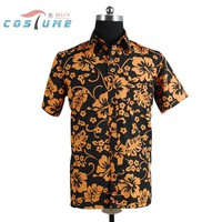 Fear and Loathing in Las Vegas Raoul Duke Orange Shirt For Men