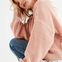BDG Drop-Sleeve Fisherman Sweater   Urban Outfitters
