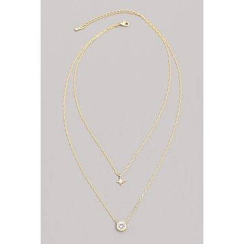 Dainty Star Layer Necklace