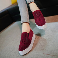 Hot Deal On Sale Stylish Comfort Hot Sale Casual Winter Vans Thick Crust Shoes Flats Sneakers [9432943306]