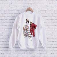 Duo Outkast andre 3000 outkast UNISEX SWEATSHIRT heppy fit & sizing