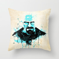 "[Im] [Da] [Dn] [Gr] ... ""I am the Danger""  Throw Pillow by Emiliano Morciano (Ateyo)"