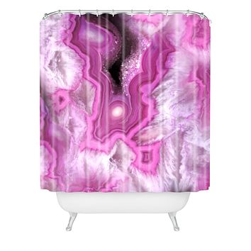 Lisa Argyropoulos Orchid Kiss Stone Shower Curtain