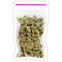 'Bag of Weed' Sticker by KushDesigns