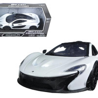 McLaren P1 White 1-24 Diecast Model Car by Motormax