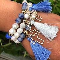 .Spiritual Beauty Beaded Bracelets