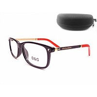 D&G Women Edgy Optical Clear Lens Fashion Brand Designer Eyeglasses Glasses