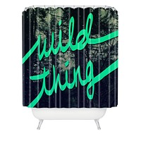Leah Flores Wild Thing 1 Shower Curtain