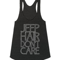Jeep Hair, Don't Care (White)