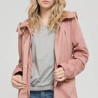 Spring Jacket in Mauve