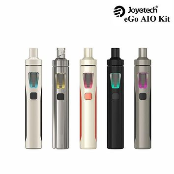 Original Joyetech Vape EGo Aio Kit 0.6ohm 1500mah battery mod e cigarette kit with 2ml atomizer ecigarette vaporizer herb hookah