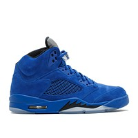 Air Jordan 5 Retro Blue Suede Game Royal GS