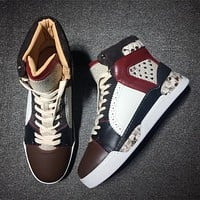 Cl Christian Louboutin Style #2108 Sneakers Fashion Shoes