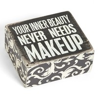 Primitives by Kathy 'Inner Beauty' Box Sign   Nordstrom