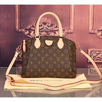 LV Louis Vuitton Fashion Women Shopping Bag Handbag Shoulder Bag Crossbody Satchel LV Print