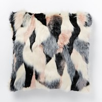 Faux Fur Foxy Pillow Cover