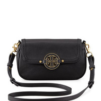 Amanda Mini Messenger Bag, Black