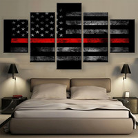 5 Panel Wall Pictures for Living Room Wall Art Decor