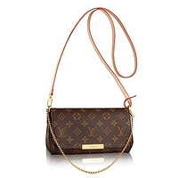 Authentic Louis Vuitton Favorite PM Monogram Canvas Cluth Bag Handbag Article: M40717 Made in France mieniwe?