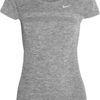 Nike - Dri-FIT perforated stretch-jersey T-shirt