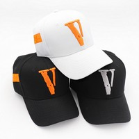 2018 vlone caps friends kanye west hip hop streetwear men women hat bone snapback summer cotton embroidery baseball caps