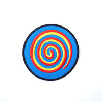 Coolorful sign patch, Iron on patch