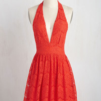 All Inspiring Dress in Scarlet | Mod Retro Vintage Dresses | ModCloth.com