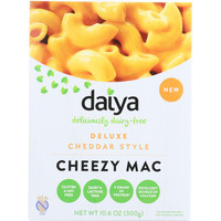Daiya Foods Inc Cheezy Mac  Deluxe  Cheddar Style  Dairy Free  10.6 Oz  Case Of 8