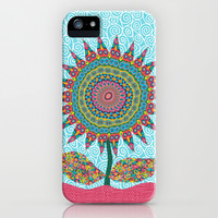 Fabby Flower-Eden colors iPhone & iPod Case by Groovity