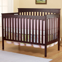 Sorelle SB2 Annie Petite 4-in-1 Convertible Crib in Cherry