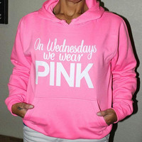 """Pink"" Victoria's Secret  Hoodie  Shirt  Pullover Sweater Blouse Top"