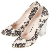 GLASS Perspex Heel Courts - The Garden Party - New In - Topshop