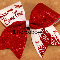 Dreams Do Come True Cheer Bow