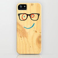 Hipster Plank (Ed, Edd and Eddy) iPhone & iPod Case by Lewis Wake