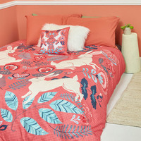 From Hare to Eternity Duvet Cover in Full/Queen | Mod Retro Vintage Decor Accessories | ModCloth.com