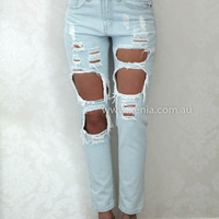 PRE ORDER - EX- BOYFRIEND JEANS (Expected Delivery 13th Febuary, 2015) , DRESSES, TOPS, BOTTOMS, JACKETS & JUMPERS, ACCESSORIES, $10 SPRING SALE, NEW ARRIVALS, PLAYSUIT, GIFT VOUCHER, $30 AND UNDER SALE, SWIMWEAR, SLEEP WEAR,,PANTS Australia, Queensland, B
