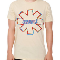 Red Hot Chili Peppers Outline Logo Slim-Fit T-Shirt