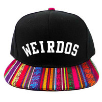 Weirdos Native Vibes Snapback Hat
