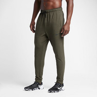The Nike Dry Men's Fleece Training Pants.