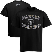 47 Brand Baylor Bears Operation Hat Trick Flanker T-Shirt - Black