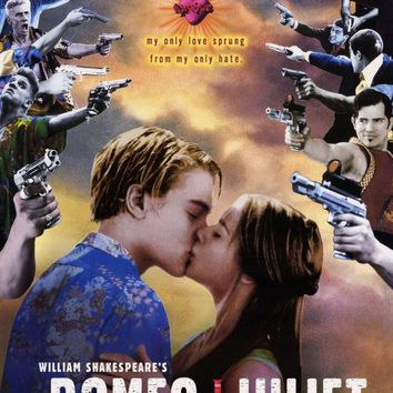 William Shakespeare's Romeo & Juliet 27x40 Movie Poster (1996)