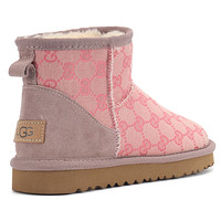UGG GG  Classic Boots Wool Fur Boots Half Boots Shoes