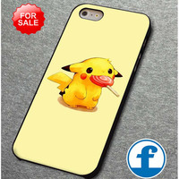 Pikachu With Lolipop for iphone, ipod, samsung galaxy, HTC and Nexus Phone Case