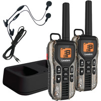 Uniden 40-mile 2-way Frs And Gmrs Radios With Headsets (realtree Camo; Nimh Batteries)