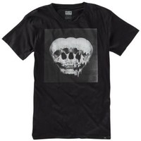 KR3W Tri-Skull Premium T-Shirt - Men's at CCS