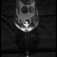 Kuroneko Wineglass
