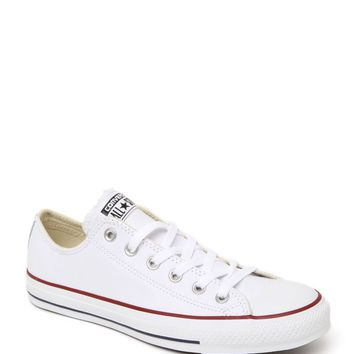 Converse All Star Leather Sneakers - Womens Shoes - White