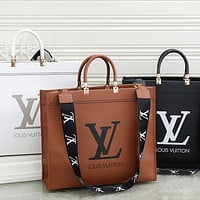 Louis Vuitton LV Printed Letters Handbag Shoulder Bag