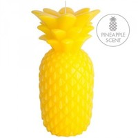 Sunnylife Small Pineapple Candle - Yellow
