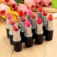 Women Sexy 12 Colors Moisture Charming Matte Lipstick Set (Color: Multicolor) = 1713094020